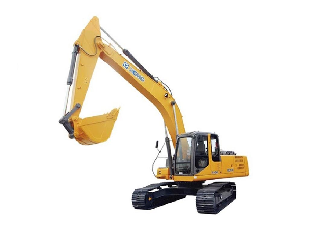 Excavadora sobre orugas XE260