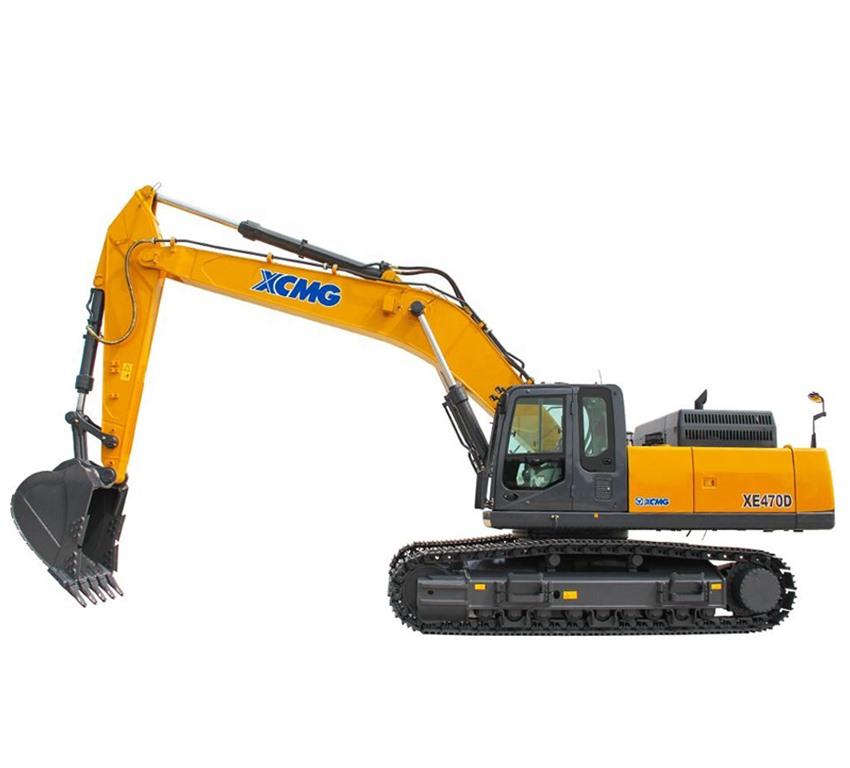 Excavadora sobre orugas XCMG XE470D