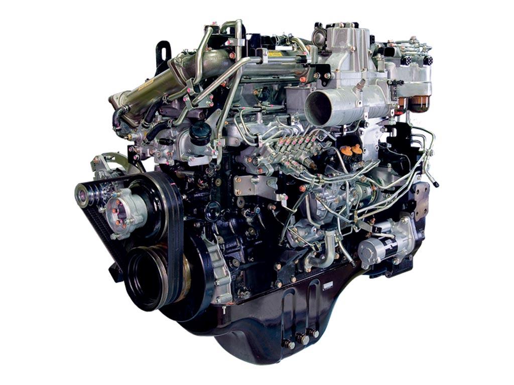 Motor diesel Isuzu CC-6BG1TRP